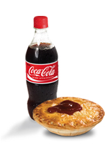 pie and coke