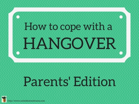 How to Cope with a Hangover
