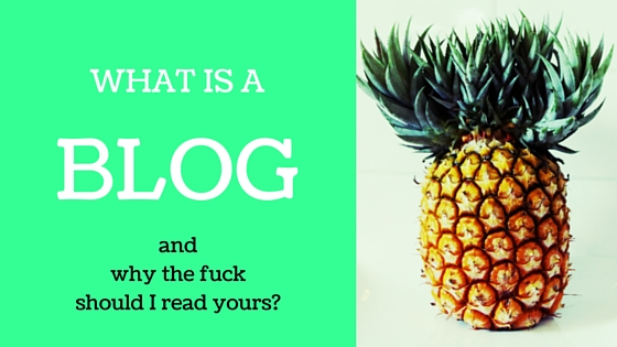 WTF IS A BLOG HEADER